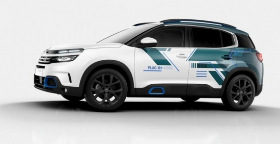 Citroën will present a new concept C5 Aircross SUV Plug-In Hybrid