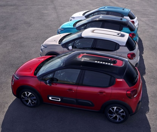 New Citroen C3 Facelift-official information and photos