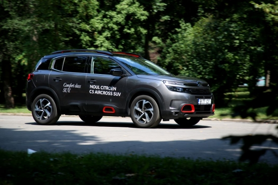 Citroen C5 AirCross test drive: the largest Citroen crossover