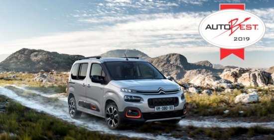 The new Citroën Berlingo wins the